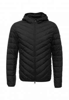 Пуховик, EA7, цвет: черный. Артикул: EA002EMUEE49. Мужская одежда / Верхняя одежда / Пуховики и зимние куртки