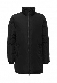 Пуховик, EA7, цвет: черный. Артикул: EA002EMUEE77. Мужская одежда / Верхняя одежда / Пуховики и зимние куртки