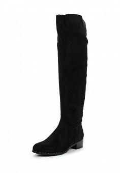 Ботфорты, Enjoin', цвет: черный. Артикул: EN009AWUQV87. Женская обувь / Сапоги
