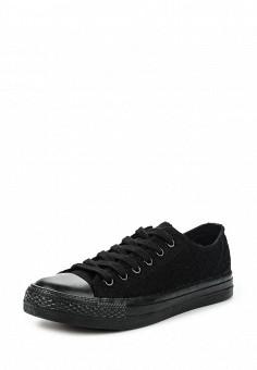Кеды, Fashion & Bella, цвет: черный. Артикул: FA034AWQTI61. Женская обувь / Кроссовки и кеды