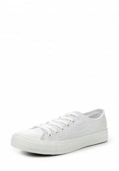 Кеды, Fashion & Bella, цвет: белый. Артикул: FA034AWQTI62. Женская обувь / Кроссовки и кеды