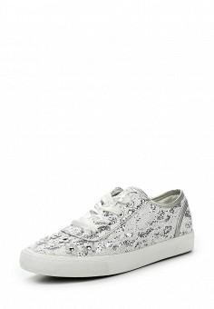 Кеды, Fashion & Bella, цвет: серебряный. Артикул: FA034AWQTI64. Женская обувь / Кроссовки и кеды