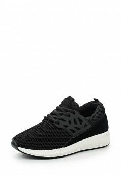 Кроссовки, Fashion & Bella, цвет: черный. Артикул: FA034AWQTI80. Женская обувь / Кроссовки и кеды