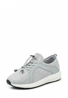 Кроссовки, Fashion & Bella, цвет: серый. Артикул: FA034AWQTI83. Женская обувь / Кроссовки и кеды