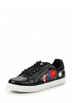Кеды, Fashion & Bella, цвет: черный. Артикул: FA034AWQTI84. Женская обувь / Кроссовки и кеды