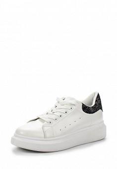 Кеды, Fashion & Bella, цвет: белый. Артикул: FA034AWSAE77. Женская обувь / Кроссовки и кеды
