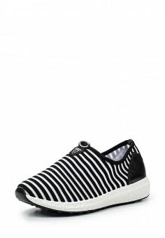 Кроссовки, Fashion & Bella, цвет: черно-белый. Артикул: FA034AWSAE91. Женская обувь / Кроссовки и кеды