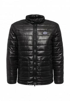 Куртка утепленная, Frank NY, цвет: черный. Артикул: FR041EMKVM55. Мужская одежда / Верхняя одежда / Пуховики и зимние куртки