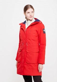 Парка, Helly Hansen, цвет: красный. Артикул: HE012EWFOJ89. Женская одежда / Верхняя одежда / Пуховики и зимние куртки