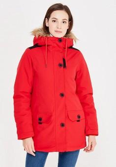 Парка, Helly Hansen, цвет: красный. Артикул: HE012EWWOF79. Женская одежда / Верхняя одежда / Парки
