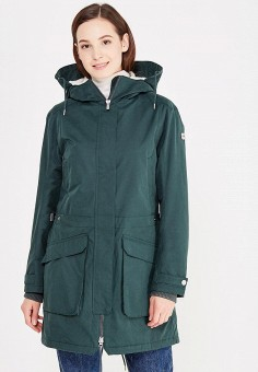 Парка, Helly Hansen, цвет: зеленый. Артикул: HE012EWWOF82. Женская одежда / Верхняя одежда / Парки
