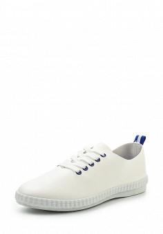 Кеды, Ideal Shoes, цвет: белый. Артикул: ID005AWSBE55. Женская обувь / Кроссовки и кеды