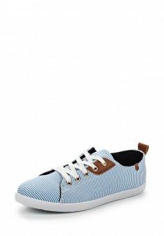Кеды, Ideal Shoes, цвет: синий. Артикул: ID005AWSBF35. Женская обувь / Кроссовки и кеды