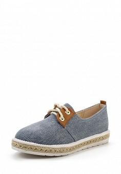 Кеды, Ideal Shoes, цвет: голубой. Артикул: ID005AWSBF39. Женская обувь / Кроссовки и кеды
