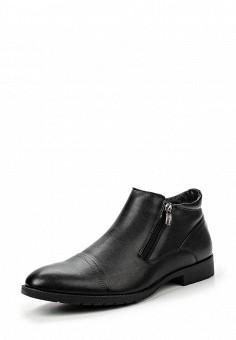 Ботинки классические, Instreet, цвет: черный. Артикул: IN011AMKOG70. Мужская обувь / Ботинки и сапоги