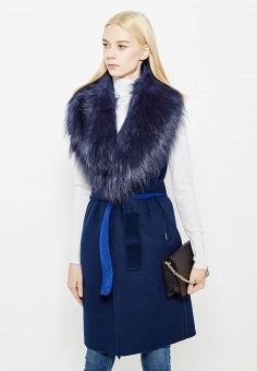 Жилет утепленный, Liu Jo Jeans, цвет: синий. Артикул: LI003EWUDU35. Премиум / Одежда / Верхняя одежда