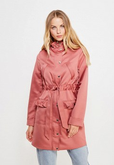 Парка, LOST INK, цвет: розовый. Артикул: LO019EWVSO26. Женская одежда / Верхняя одежда / Парки