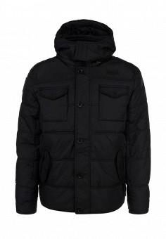 Куртка утепленная, Lonsdale, цвет: черный. Артикул: LO789EMCSC78. Мужская одежда / Верхняя одежда / Пуховики и зимние куртки
