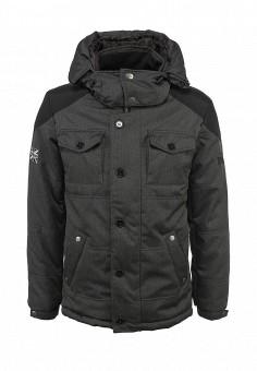 Куртка утепленная, Lonsdale, цвет: серый. Артикул: LO789EMJH513. Мужская одежда / Верхняя одежда / Пуховики и зимние куртки