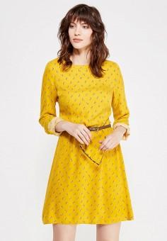 Золотое кожаное платье