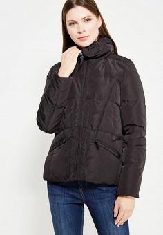 Пуховик, Colin's, цвет: черный. Артикул: MP002XW0F4O5. Женская одежда / Верхняя одежда / Пуховики и зимние куртки