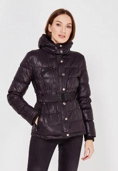 Пуховик, Colin's, цвет: черный. Артикул: MP002XW0N3T6. Женская одежда / Верхняя одежда / Пуховики и зимние куртки