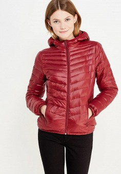 Пуховик, Colin's, цвет: бордовый. Артикул: MP002XW1AIQP. Женская одежда / Верхняя одежда / Пуховики и зимние куртки