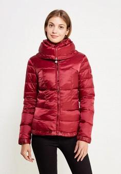 Пуховик, Colin's, цвет: бордовый. Артикул: MP002XW1AIQZ. Женская одежда / Верхняя одежда / Пуховики и зимние куртки