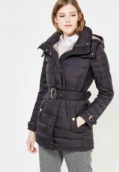 Пуховик, Colin's, цвет: черный. Артикул: MP002XW1ASCC. Женская одежда / Верхняя одежда / Пуховики и зимние куртки