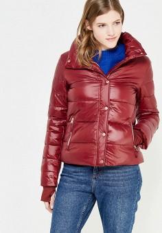 Пуховик, Colin's, цвет: бордовый. Артикул: MP002XW1ASCE. Женская одежда / Верхняя одежда / Пуховики и зимние куртки