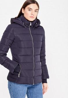 Пуховик, Colin's, цвет: синий. Артикул: MP002XW1ASDL. Женская одежда / Верхняя одежда / Пуховики и зимние куртки