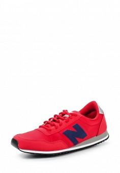 Кроссовки, New Balance, цвет: красный. Артикул: NE007AUPEC71. Женская обувь / Кроссовки и кеды / Кроссовки