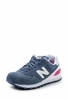 Кроссовки, New Balance, цвет: синий. Артикул: NE007AWPEH84. Женская обувь / Кроссовки и кеды / Кроссовки