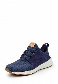 Кроссовки, New Balance, цвет: синий. Артикул: NE007AWUNX13. Женская обувь / Кроссовки и кеды / Кроссовки