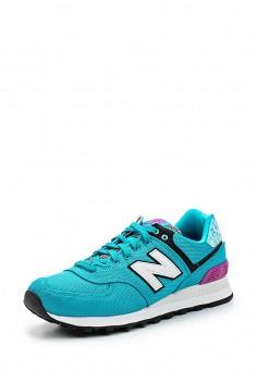 Кроссовки, New Balance, цвет: бирюзовый. Артикул: NE007AWUNZ37. Женская обувь / Кроссовки и кеды / Кроссовки