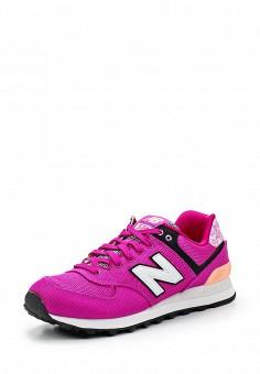 Кроссовки, New Balance, цвет: фиолетовый. Артикул: NE007AWUNZ39. Женская обувь / Кроссовки и кеды / Кроссовки