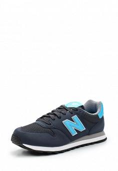 Кроссовки, New Balance, цвет: синий. Артикул: NE007AWUNZ77. Женская обувь / Кроссовки и кеды / Кроссовки