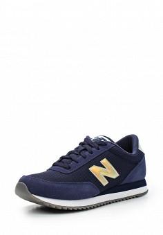 Кроссовки, New Balance, цвет: синий. Артикул: NE007AWUNZ99. Женская обувь / Кроссовки и кеды / Кроссовки