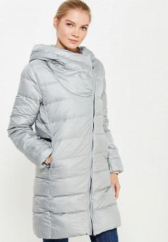 Пуховик, Nike, цвет: серый. Артикул: NI464EWUGT73. Женская одежда / Верхняя одежда / Пуховики и зимние куртки