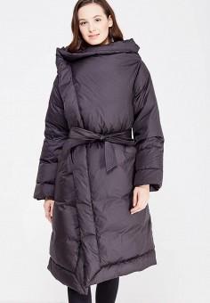 Пуховик, Odri, цвет: черный. Артикул: OD001EWXGF44. Женская одежда / Верхняя одежда / Пуховики и зимние куртки
