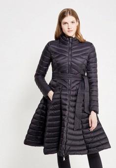Пуховик, Odri, цвет: черный. Артикул: OD001EWYGM59. Женская одежда / Верхняя одежда / Пуховики и зимние куртки