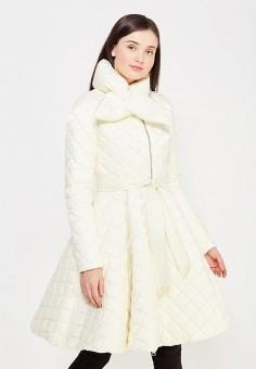 Пуховик, Odri, цвет: белый. Артикул: OD001EWYGM84. Женская одежда / Верхняя одежда / Пуховики и зимние куртки