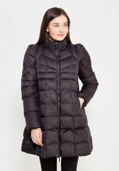 Пуховик, Odri, цвет: черный. Артикул: OD001EWYGM86. Женская одежда / Верхняя одежда / Пуховики и зимние куртки
