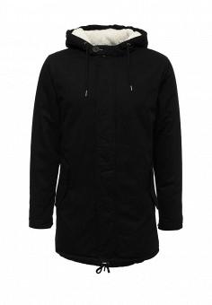 Парка, Only & Sons, цвет: черный. Артикул: ON013EMUKC35. Мужская одежда / Верхняя одежда / Парки
