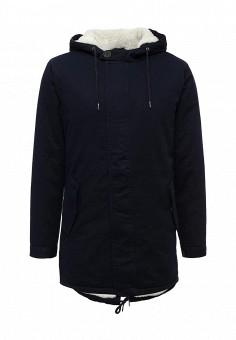 Парка, Only & Sons, цвет: синий. Артикул: ON013EMUKC36. Мужская одежда / Верхняя одежда / Парки