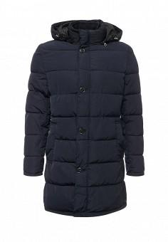 Куртка утепленная, oodji, цвет: синий. Артикул: OO001EMYLG35. Мужская одежда / Верхняя одежда / Пуховики и зимние куртки
