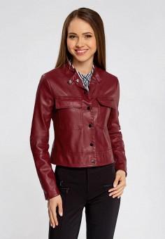кожаная куртка красная смешная