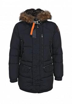 Пуховик, Parajumpers, цвет: синий. Артикул: PA997EMKB831. Мужская одежда / Верхняя одежда / Пуховики и зимние куртки