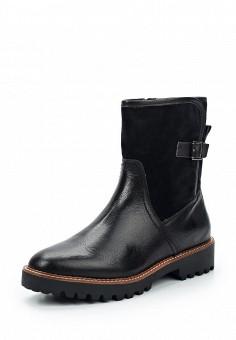 Полусапоги, Pier One, цвет: черный. Артикул: PI021AWLGC16. Женская обувь / Сапоги