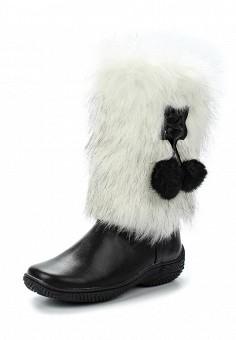 Унты, Pink Frost, цвет: черный. Артикул: PI023AWUZM30. Женская обувь / Сапоги